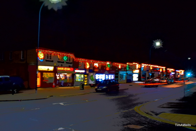 Thurcroft lights